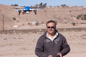 Practice makes perfect, here the author is practicing flying a drone without a camera on it in smooth and easy transitional flight.