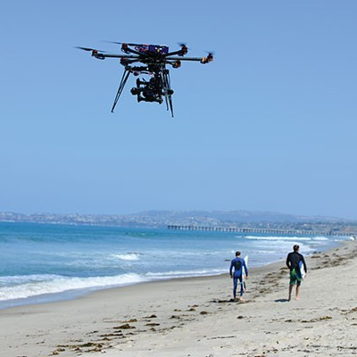 An Aerial Video team spends a day at the beach – Surf's Up!