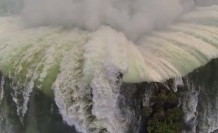 DJI Phantom over Niagara Falls, great video