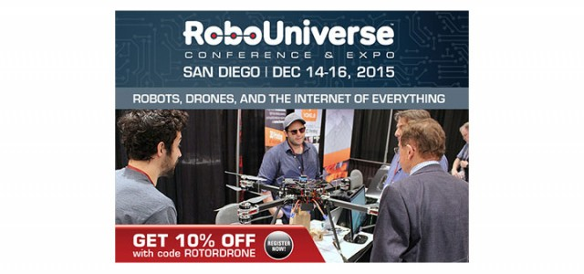 RoboUniverse Conference & Expo Heads to San Diego- Get 10% OFF