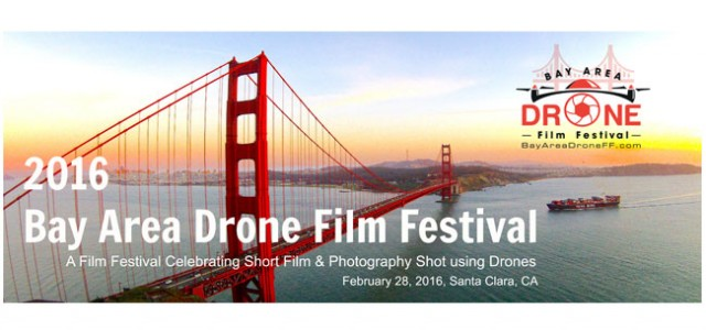 RotorDrone Magazine is a media sponsor of the Bay Areas First Drone Film Festival!