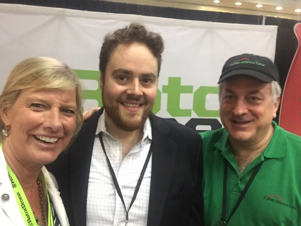 Diane de Spirlet RotorDrone Sales Executive, Charles Zwebner, President & CEO, Cioher Aliancr Corp.Son in Law: Andrew Konig, President, Volare Drone