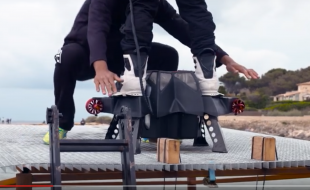 Flyboard Air, the farthest flight by a hover-board.