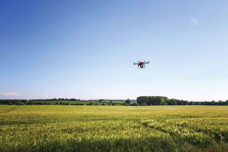 Perhaps the most important way drones can improve our lives is in making agriculture more efficient and cost-effective.