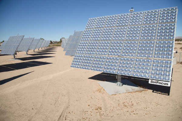 Waypoint programming is the perfect mode for photo surveying large areas, such as this solar-panel array.