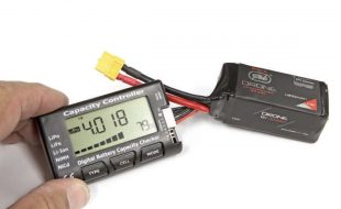 Battery checkers display the voltage from each cell, so you can keep track of any weak cells.