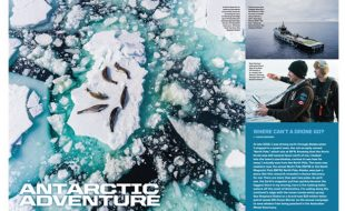 Aerial Videography: Antarctic Adventure