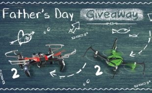 Win a Drone for Father's Day!