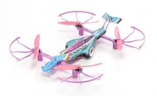 Kyosho ReadySet Pastel Rainbow 1/18 Drone Racer [VIDEO]