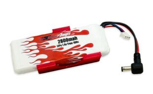 MaxAmps LiPo 2800 2S 7.4v Fat Shark Battery Upgrade Kit