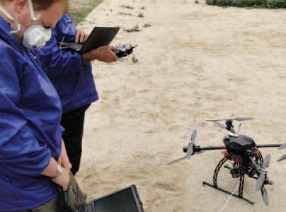 ImiTec's Radiation-Mapping Drones