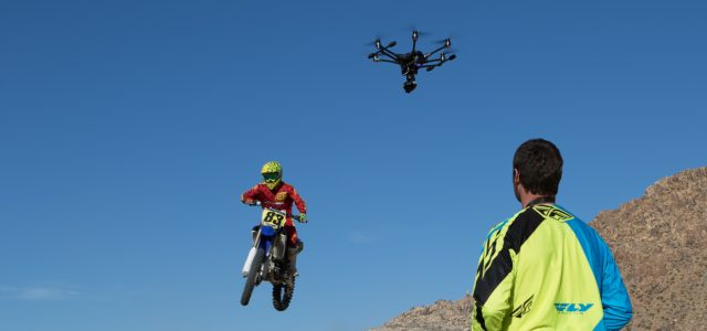 Aerial Drone Videos: Shooting Motocross