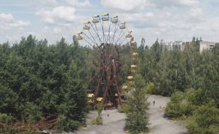 Drone footage of Chernobyl