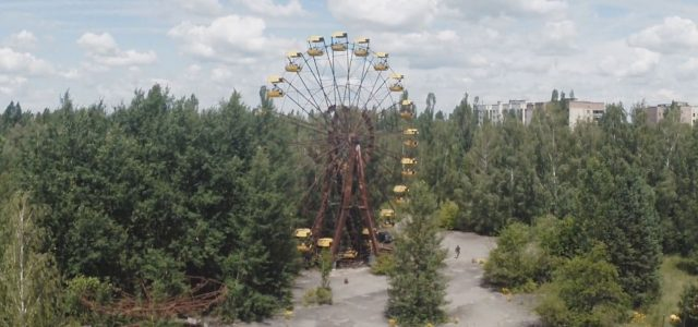 Postcards from Pripyat – Drone footage of Chernobyl town