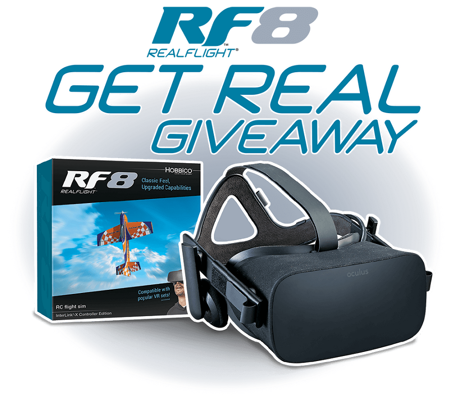 RealFlight 8 Giveaway- Win Free VR Goggles For RF8 - RotorDrone
