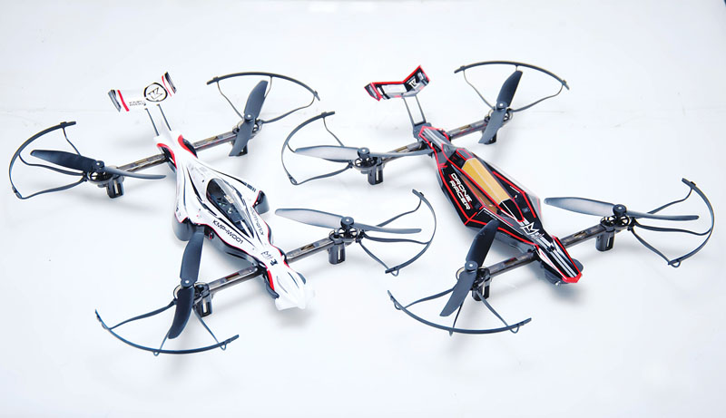 Drone Reviews: Kyosho Drone Racer - Zephyr and the G-Zero.