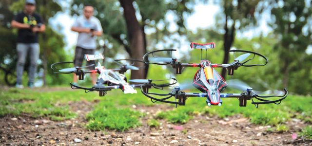 Drone Reviews: Kyosho  Drone Racer