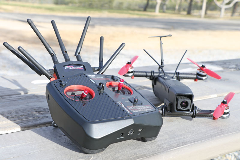Drone Review: Connex Falcore transmitter