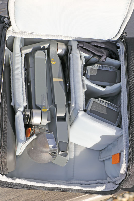 Drone Review: Drone World Mavic Pro - Backpack