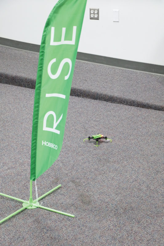 Drone Reviews: RISE Vusion House Racer - prop protectors