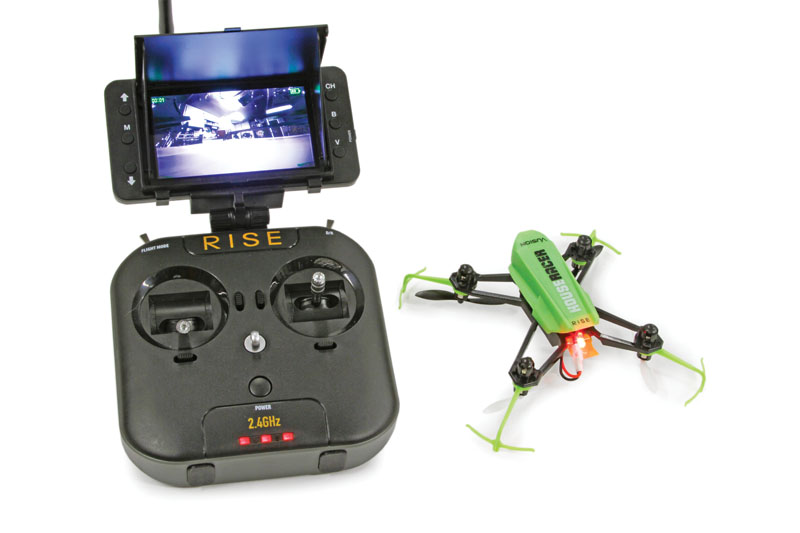 Drone Reviews: RISE Vusion House Racer - package