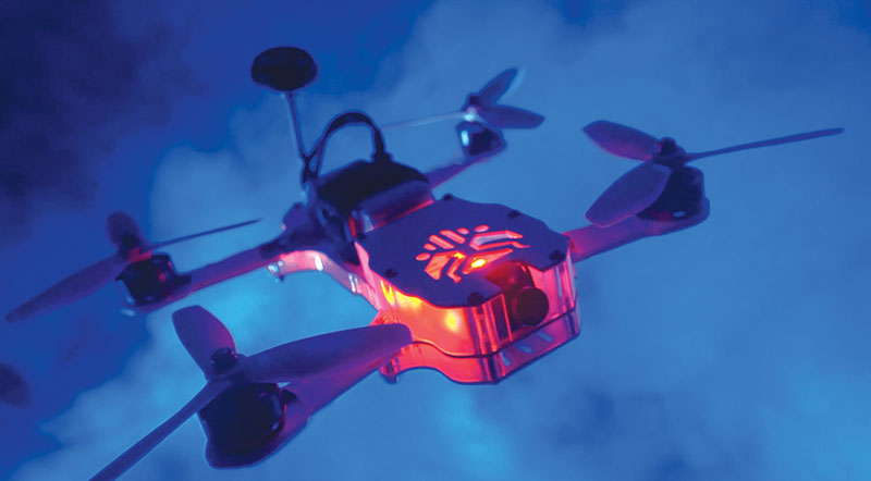 Drone Reviews: Thrust UAV Riot 250R Pro - Light it up