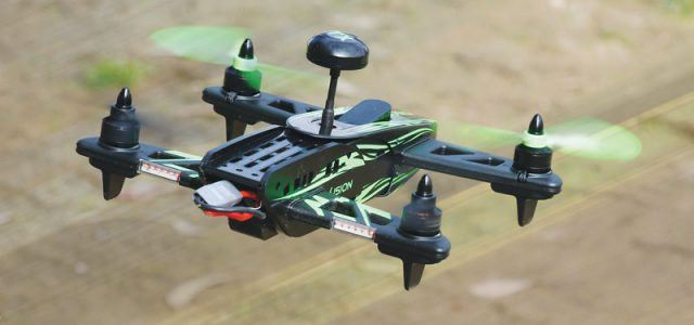 Drone Reviews: RISE Vusion 250 Racer FPV-R Quadcopter