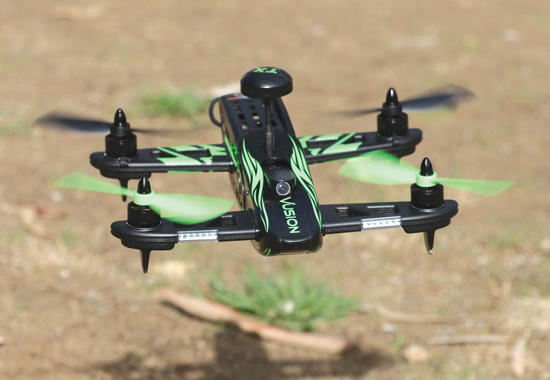 Drone Reviews: RISE Vusion 250 Racer FPV-R