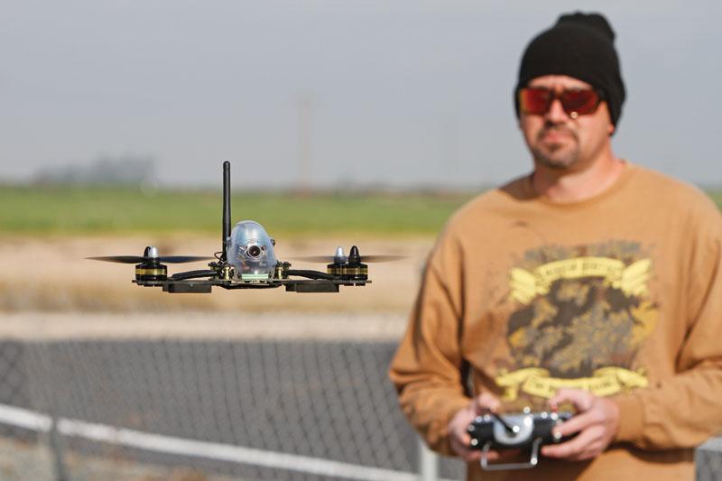 Drone Review: Hitec Vektor 280 - Flying