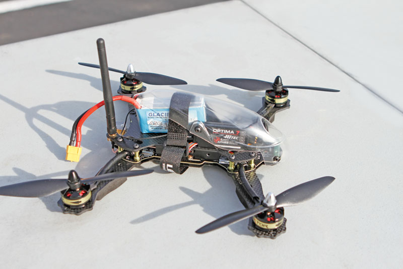 Drone Review: Hitec Vektor 280 - options