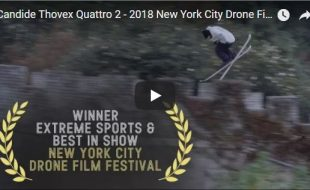 Drone News: NYCDFF Best in Show & Extreme Sports Winner