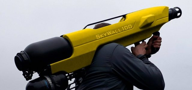 Drone News: SkyWall100 catches rogue drones