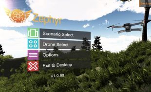 Zephyr Drone Sim Helps Trainers