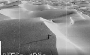 Drone Finds Man Lost in Desert