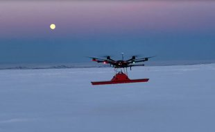 Drone Finds WW II P-38 in Glacial Ice