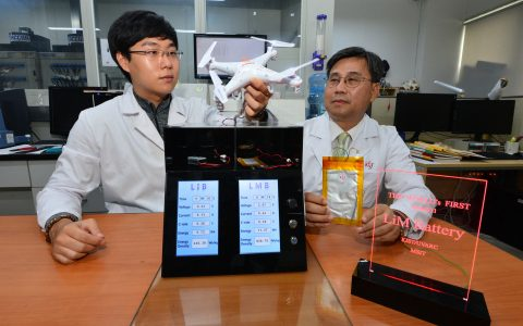 New Lithium Metal Ion Battery