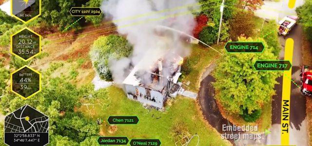 EdgyBees' AR Footage Helps Wildfire Responders