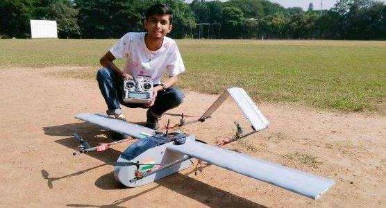 21-Year-Old Student's VTOL Drone