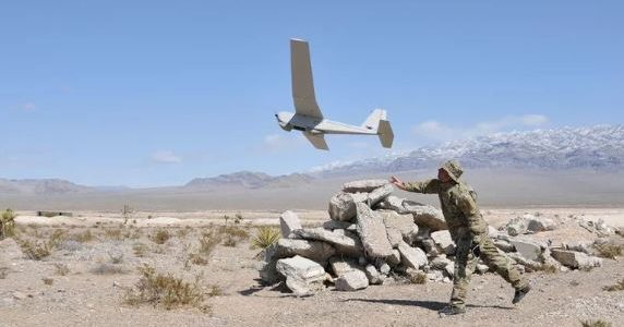 Drones Could Be a Virtual Wall