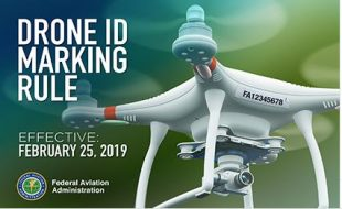 FAA: Drone Reg. Number
