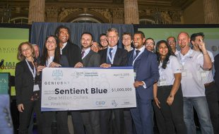 Sentient Blue Wins $1 Million Grand Prize