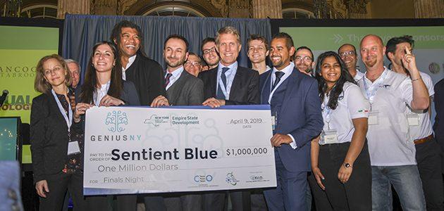 Sentient Blue Wins $1 Million Grand Prize