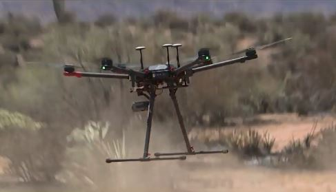 Wildfires: Using Drone Back Burns