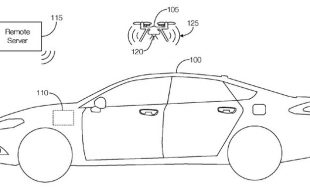 Ford Patents Vehicle-Integrated Drone