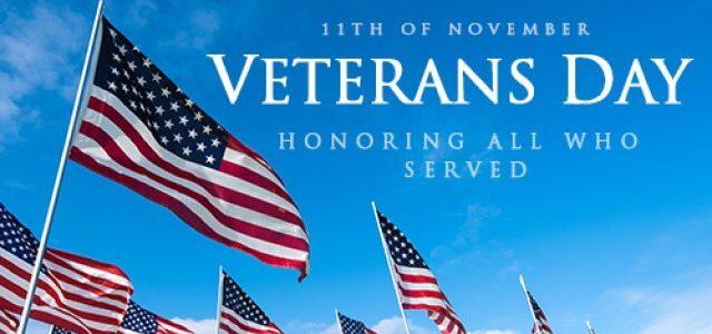 Thanking All Veterans