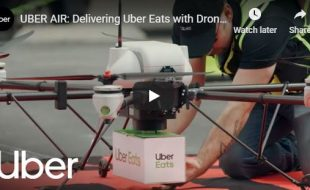 Ding Dong. Pizza Drone Delivery!