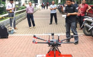Terra Drone Tests Ground Penetrating Radar