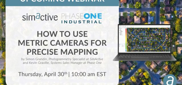 Free Webinar: Using Metric Cameras for Precise Mapping