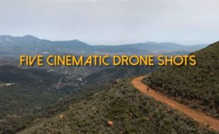5 Cinematic Drone Shots [VIDEO]